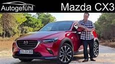 mazda cx3 review facelift 2019 cx 3 test autogef 252 hl