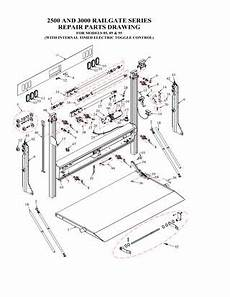 flatbed wiring diagram gate flatbed stake railgate series high cycle liftgate parts manual by the