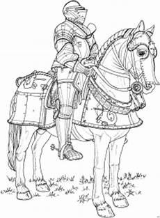 ritter zu pferd ausmalbild malvorlage schlachten