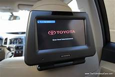 toyota highlander rear entertainment system 2013 toyota venza limited interior rear seat