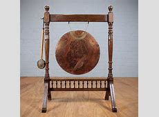 Late 19th.c. Dinner Gong   Antiques Atlas
