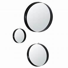 runde spiegel runde spiegel aus metall schwarz d54 x3 maore maisons