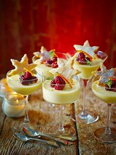st clement s posset with starry shortbread recipe in