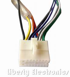 Clarion 16 Pin Stereo Radio Wire Harness Power Db