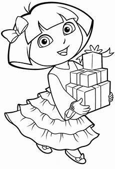 printable dora coloring pages free printable coloring pages for kids