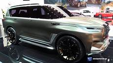 when does the 2020 infiniti qx80 come out 2018 infiniti qx80 monograph concept exterior walkaround