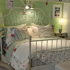 White Metal Bed Bedroom Ideas by Ikea White Metal Bed Frame Drawing In 2019 White Metal