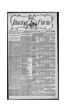 daily racing form n sunday june 1916 daily racing form free download borrow and