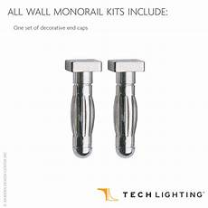 wall monorail 300w remote kit by tech lighting commerciallightingsupplier