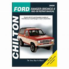 car manuals free online 1987 ford ranger interior lighting chilton 174 ford ranger 1986 1987 repair manual