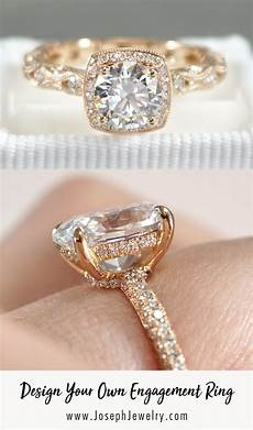 design your own engagement ring whether you start from