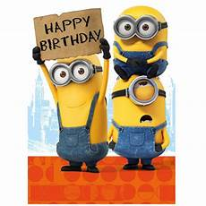 Malvorlagen Minions Happy Birthday Happy Birthday Sign Minions Card Minion Shop