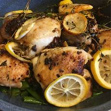 grace for this moment lemon garlic pan roasted chicken