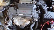 how does a cars engine work 2009 kia borrego seat position control 2009 kia spectra engine w 13 099 miles m m t0830 youtube