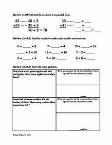 1st grade common core math worksheets subtract multiples of 10 1 nbt 6