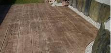 Terrasse Beton Imitation Bois Terrasse En Beton Imprime Imitation Bois Nos Conseils