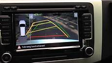 autoradio mit navi vw rns 510 with rear assist mit r 252 ckfahrkamera radio