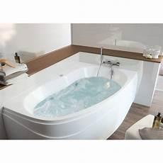 baignoire baln 233 o avec tablier asym 233 trique l 160x l 100 cm