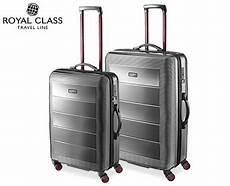 aldi koffer 2018 royal class travel line polycarbonat koffer business