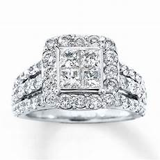 diamond engagement ring 3 carats tw 14k white gold 80454515 sterlingjewelers