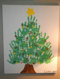 Handprint Tree Canvas This Is Easy