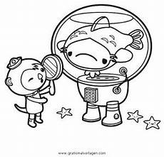 oktonauten 4 gratis malvorlage in comic trickfilmfiguren