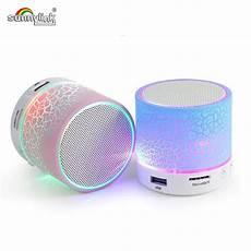 Mini Colorful Light Bluetooth by Wireless Mini Led Light Bluetooth Speaker With Usb Tf