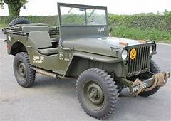For Sale – 1943 Willys Jeep Iconic Military Vehicle