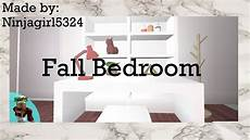Bedroom Ideas Bloxburg by Welcome To Bloxburg Fall Bedroom Speed Build