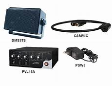 speco 2wak2 2 way audio kit with 15w rms lifier line level microphone and 4 inch wall