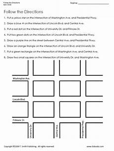 15 best images of 4th grade map skills printable worksheets following directions worksheets