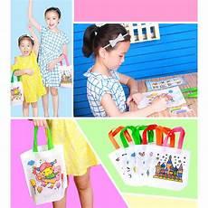 Reusable Pocket Drawing Environmental Protection Students by Cloth Bag Toys Handmade Bags Kindergarten