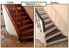 renovierung treppenhaus mit neuen treppenauflagen