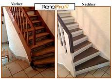 Treppe Belegen Mit Holz Oder Laminat Mir Unserem