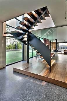 escalier droit design escalier droit et escalier tournant en 100 designs
