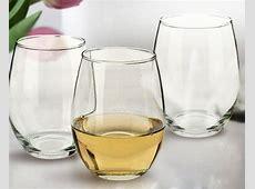 21oz Stemless Wine Glasses Bulk (Set of 12)