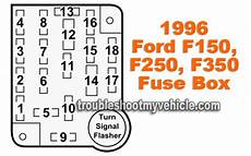 1996 f250 fuse box diagram 1996 f150 f250 f350 instrument panel fuse box ford 4 9l 5 0l 5 7l