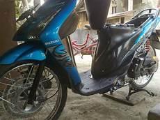 Modif Warna Motor Spin by Modifikasi Spin 125 Velg 17 Thecitycyclist