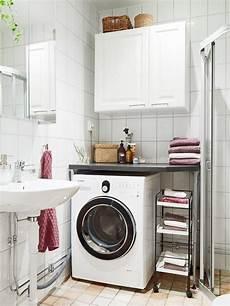 kleines badezimmer stauraum kleines bad gestalten waschmaschine stauraum ideen home