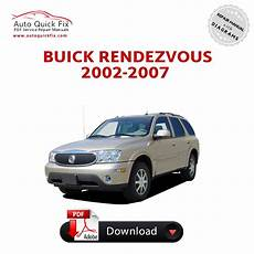 auto repair manual free download 2006 buick rendezvous electronic valve timing buick rendezvous pdf service repair manual 2002 2007 pdf factory repair manuals