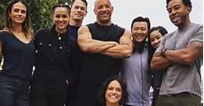 Fast Furious 9 Cast Photo Celebrates