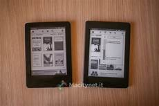illuminazione kindle recensione kindle vs kindle paperwhite in prova i due e