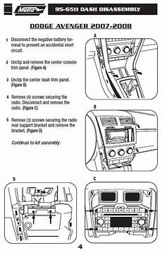 2008 dodge avenger stereo wiring diagram 2008 dodge avenger installation parts harness wires kits bluetooth iphone tools wire