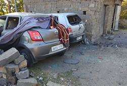 Jammu Cars Damaged In Ceasefire Violation By Pakistan