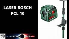 niveau laser bosch pcl 10 tige t 201 lescopique tp 320