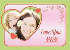 mothers day photo card templates free free custom photo s day cards psd templates