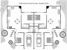 smartdraw house plans impressive duplex floor plan with smart draw floor plan