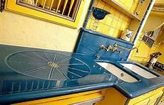 plan de travail en lave 233 maill 233 e couleur bleu atelier wiart