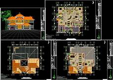 free autocad house plans dwg computer camp