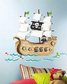 Roommates Wandsticker Piratenschiff Kinderzimmer